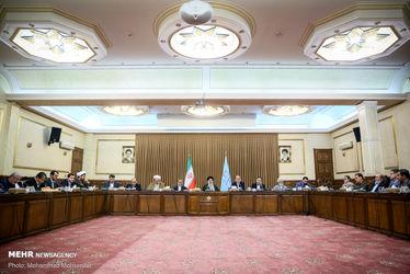 دیدار اعضای فراکسیون ولایی مجلس شورای اسلامی با رئیسی
