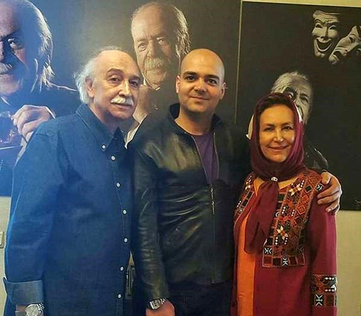 عکس جنجالی مهوش صبر کن در کنار همسرش محمود پاک نیت