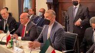 وزیر خارجه در نشست چندجانبه بغداد در نیویورک چه گفت؟