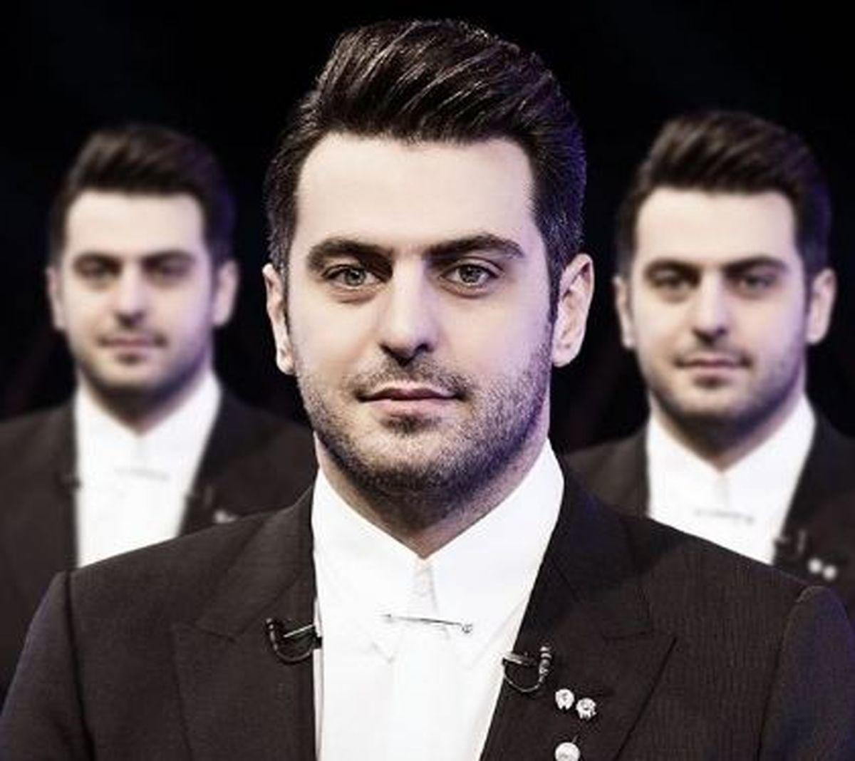 عکس خانوادگی «علی ضیا» مجری فرمول یک