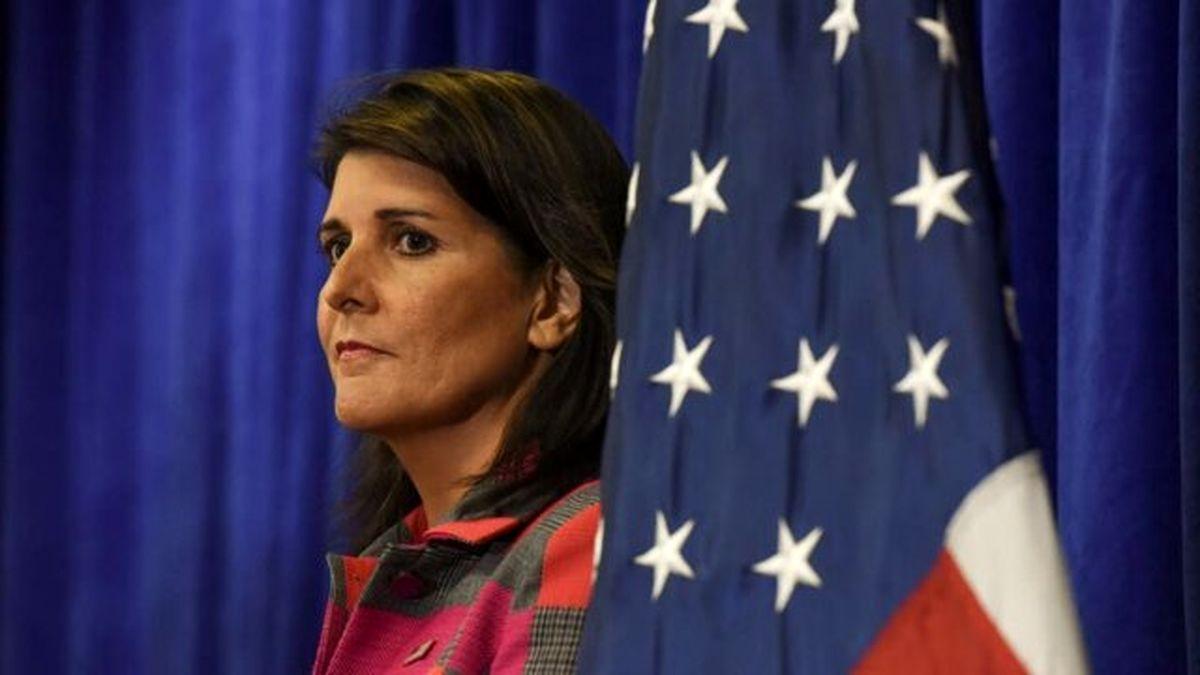 نیکی هیلی از تلاش آمریکا برای بازگشت به برجام انتقاد کرد