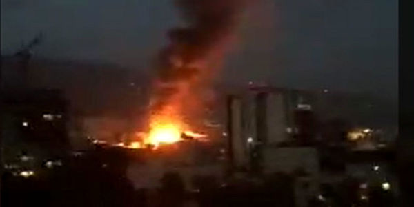 علت آتش سوزی کلینیک سینا