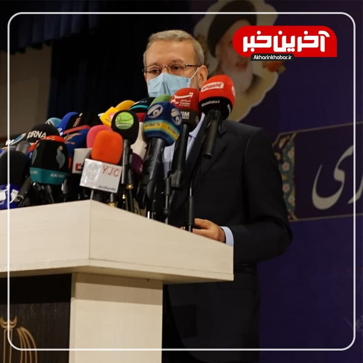توضیحات نماینده سابق درباره اظهارات جنجالی لاریجانی در ستاد انتخابات