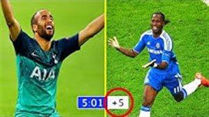 بهترین گلهای لحظه آخری تاریخ فوتبال جهان