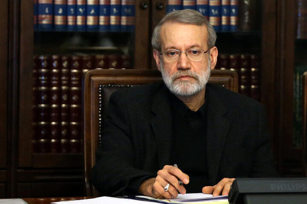 لاریجانی به رهبر انقلاب پیام داد