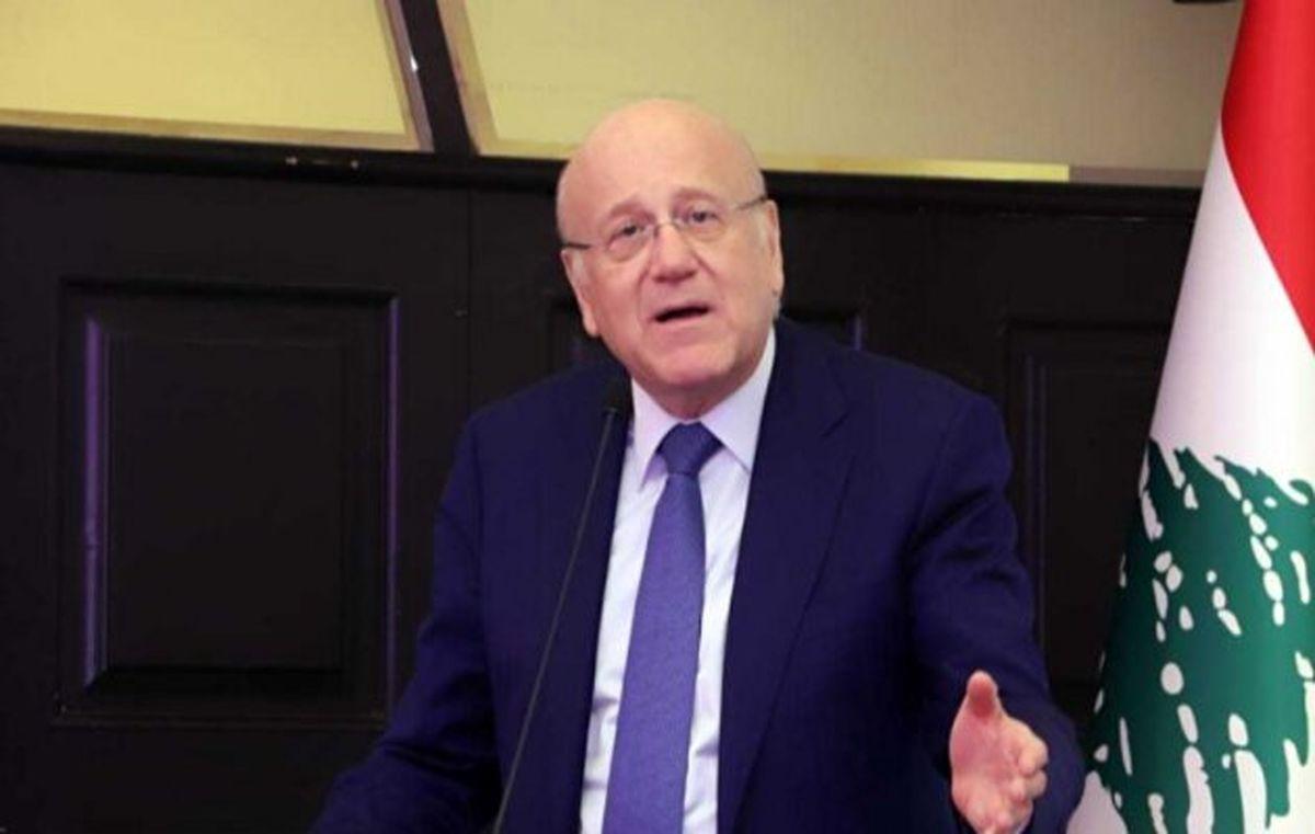 نخستوزیر لبنان: نگران تحریم به دلیل واردات سوخت ایران نیستم