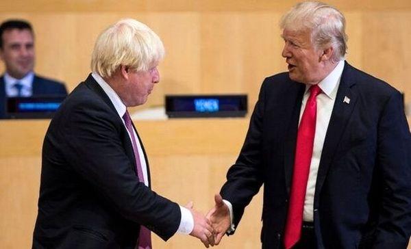 ترامپ و جانسون دیدار کردند