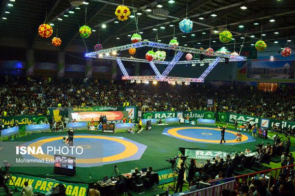 تهران میزبان کشتی آزاد باشگاههای جهان شد