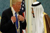 ترامپ از عربستان سعودی رشوه می گیرد