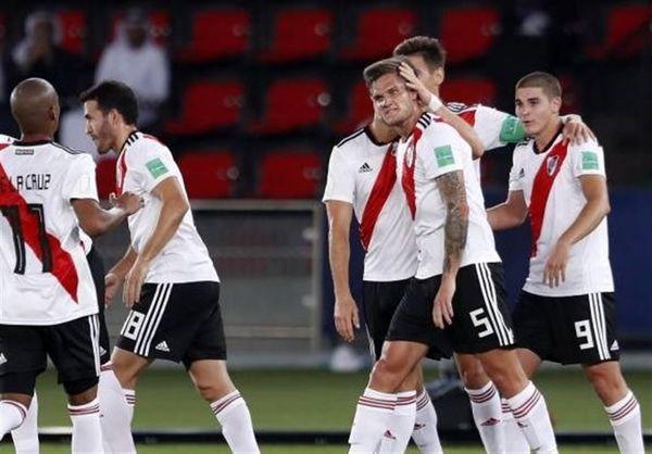 جام باشگاه های جهان/ ریورپلاته 4 بر صفر کاشیما را برد و سوم شد