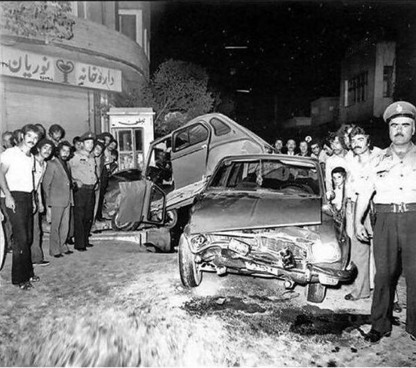 قدیمی ترین تصادفات اتومبیل در ایران/ عکس