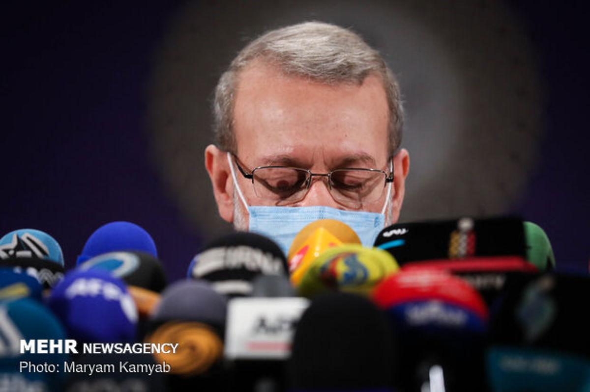 لاریجانی: اعتراضی به شورای نگهبان ندارم