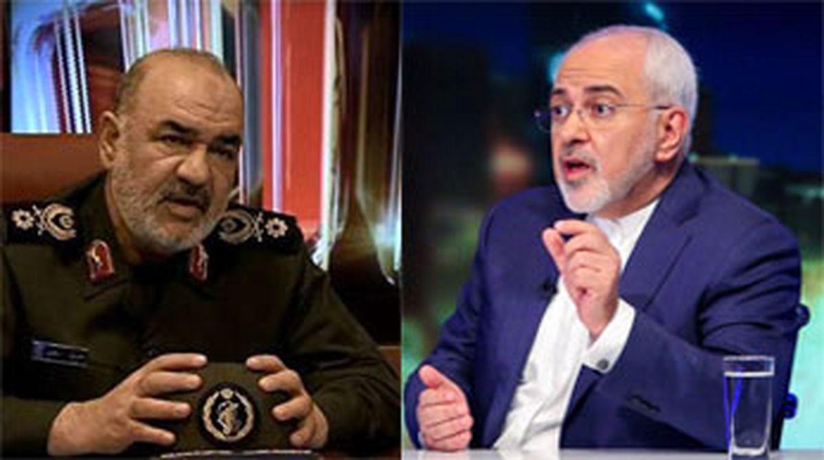وزیر خارجه و فرمانده سپاه به تلویزیون میروند