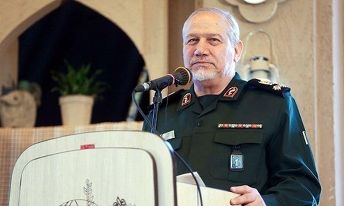 مشاور فرمانده کل قوا: آمریکاییها از مکتب شهید سلیمانی شکستی راهبردی خوردند