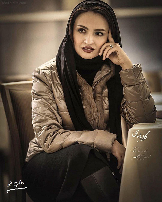 عکس ماسکی گلاره عباسی با موهای قرمز|تصاویر خاص