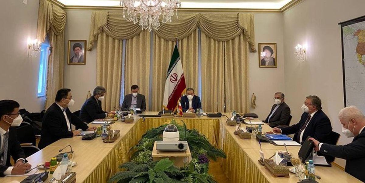 نشست برجامی ایران، چین و روسیه در وین