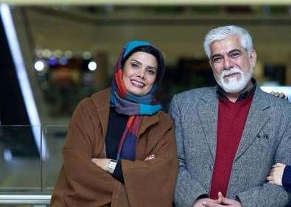 تصویر منتشر شده از عاشقانه عاطفه رضوی وحسین پاکدل +عکس دونفره