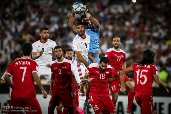 خلاصه بازی ایران 5 - سوریه 0 (هتریک طارمی)