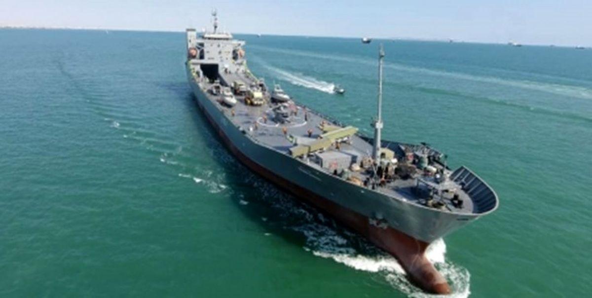 الحاق ناو اقیانوسپیمای «شهید رودکی» به نیروی دریایی سپاه