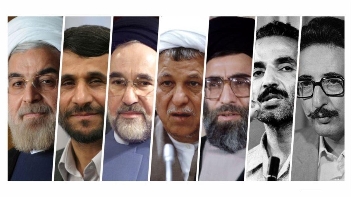 روسایی که جمهور انتخاب کرده است