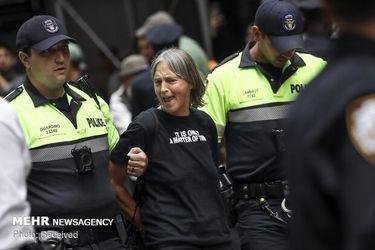 اعتراض فعالان محیط زیست