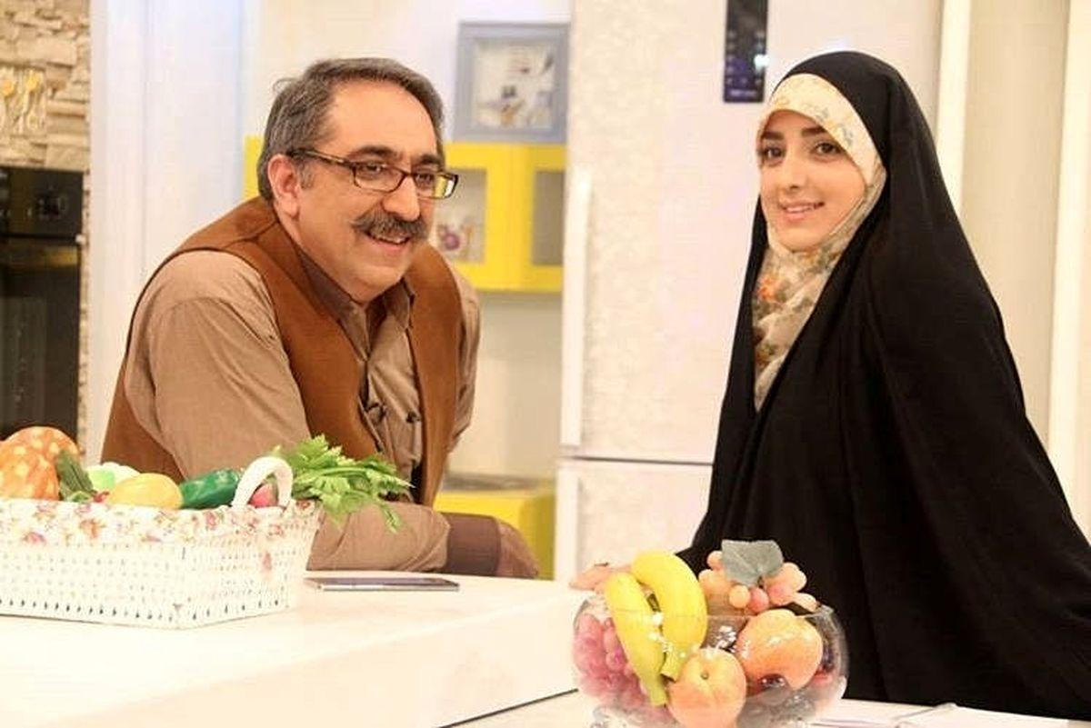 اختلاف سنی عجیب مجری تلویزیون و همسرش! +عکس