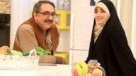 تصاویر دونفره شهرام شکیبا مجری معروف و همسرش