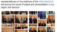 گزارش ظریف از سه روز حضورش در مونیخ