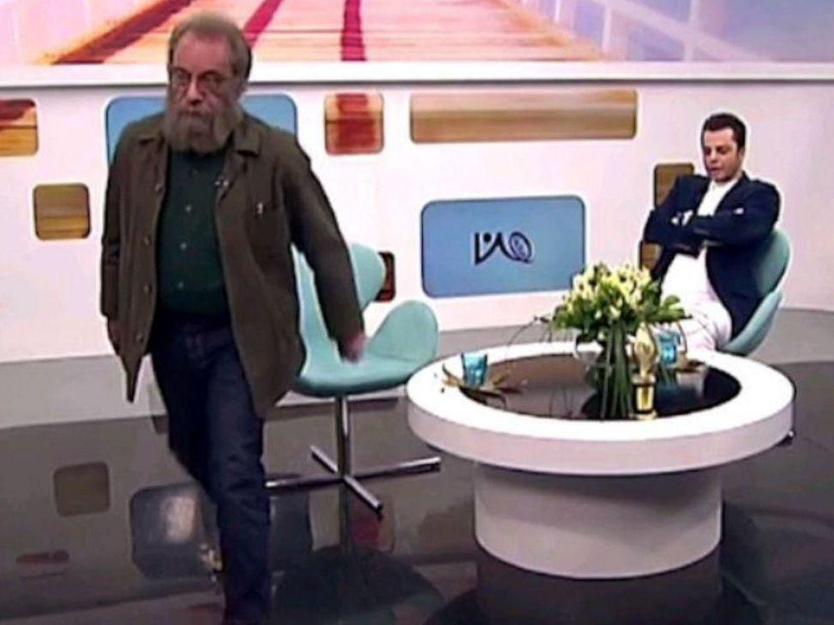 دعوای مجری با مهمان برنامه روی آنتن زنده تلویزیون! +فیلم