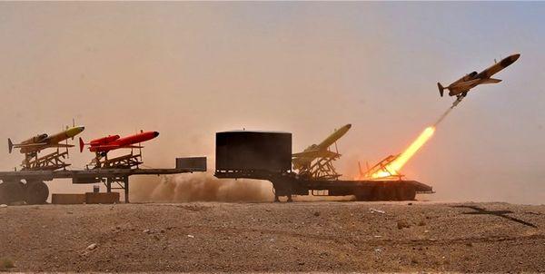 پهپادهای انتحاری کرار آماده نابودی جنگنده های میلیون دلاری دشمن