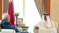 ظریف در دیدار با امیر قطر : روابط ایران و قطر الگویی مناسب برای منطقه