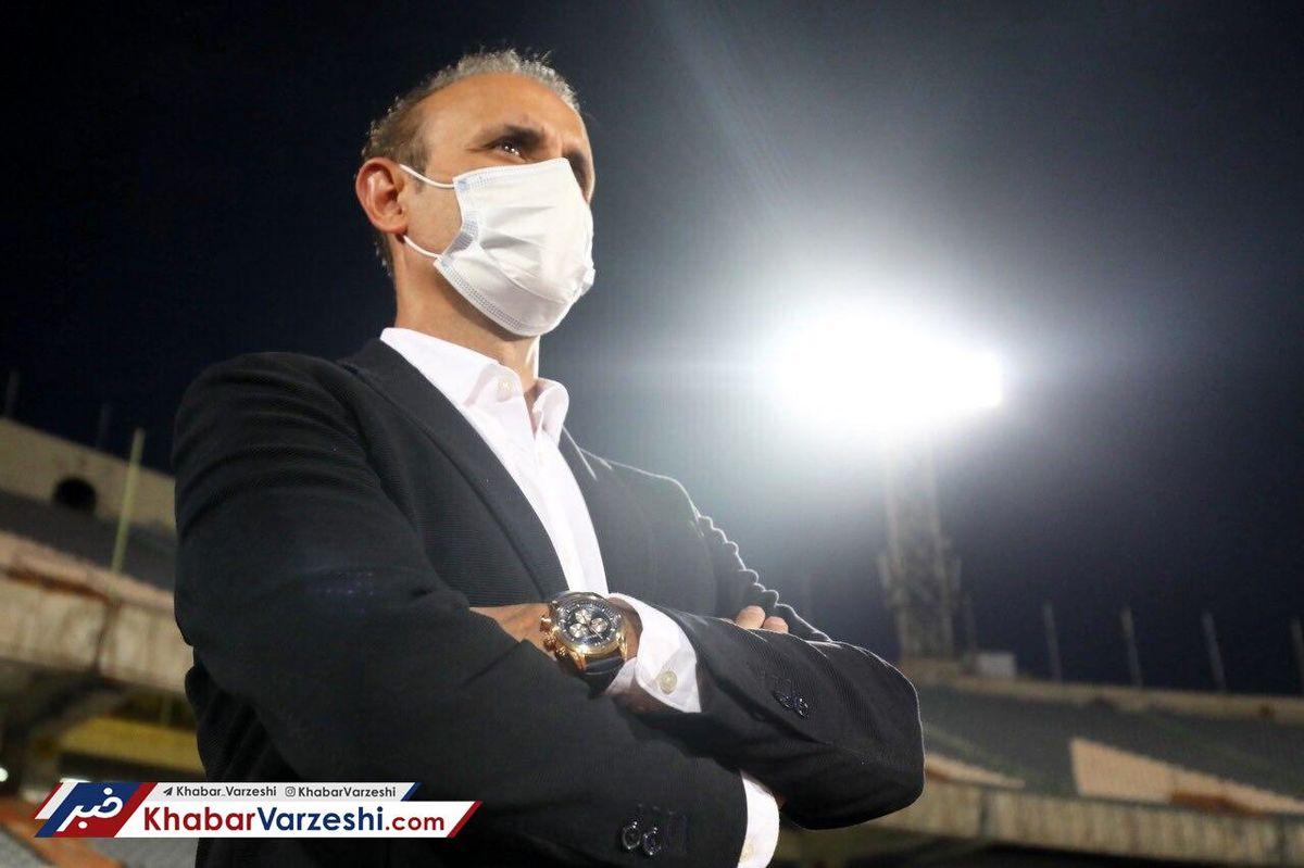 اعتراض پرسپولیس به محرومیت گلمحمدی