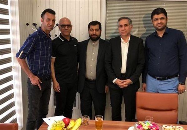 قرارداد مرزبان و عنایتی با سیاه جامگان امضا شد + گزارش تصویری
