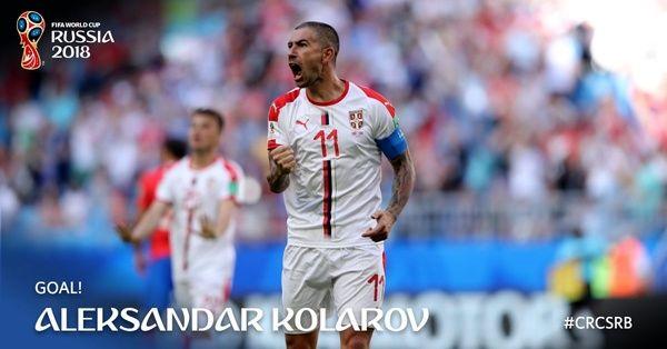 طلسم شکنی صرب ها با یک ضربه ایستگاهی کم نظیر