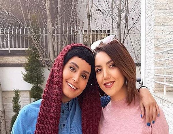 عکس الناز شاکردوست و خواننده ترکیه ای