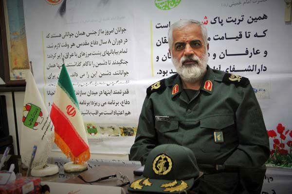 سردار سرخیلی: فرمانده قرارگاه مدینه منوره: امروز ایران بغل گوش اسرائیل است