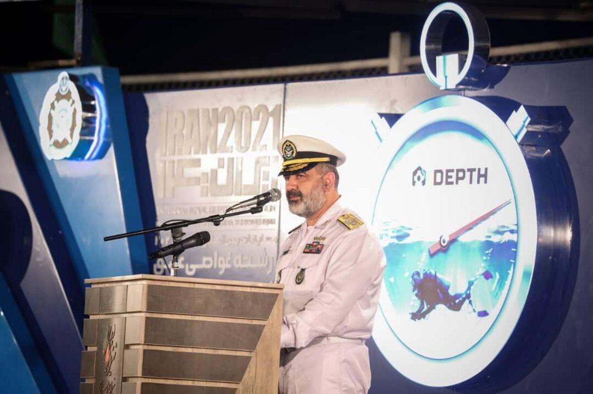 فرمانده نیروی دریایی ارتش: اجازه نمیدهیم دشمنان امنیت و آرامش منطقه را بهم بریزند