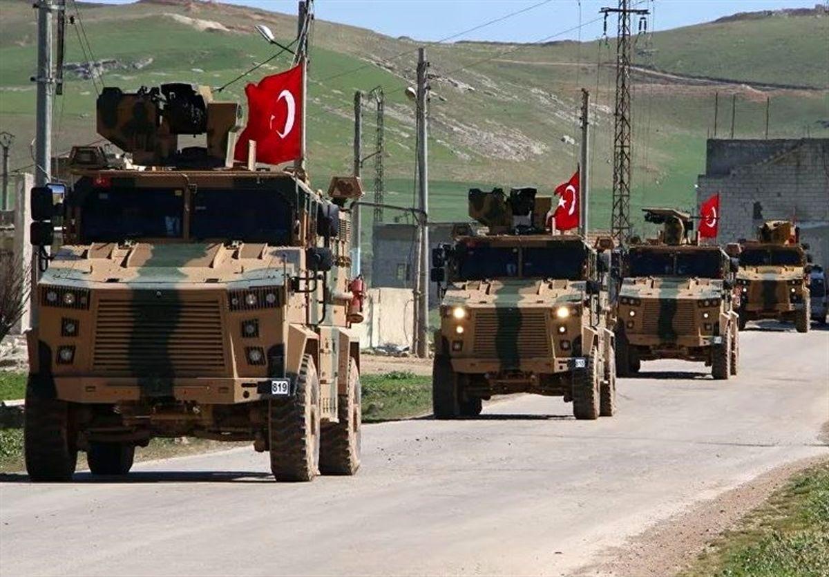 ورود یک کاروان نظامی ترکیه به استان ادلب سوریه