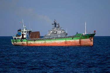 رزمایش دریایی ایران و روسیه و چین