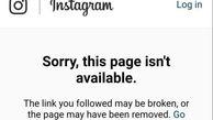 صفحه انگلیسی رهبر انقلاب دقایقی قبل توسط اینستاگرام بسته شد + عکس