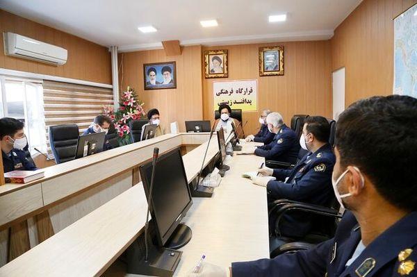 دستورفرمانده نیروی هوایی ارتش برای تشکیل قرارگاه فرهنگی پدافند زیستی