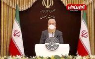 حضور سخنگوی دولت در نشست خبری با ظاهری متفاوت