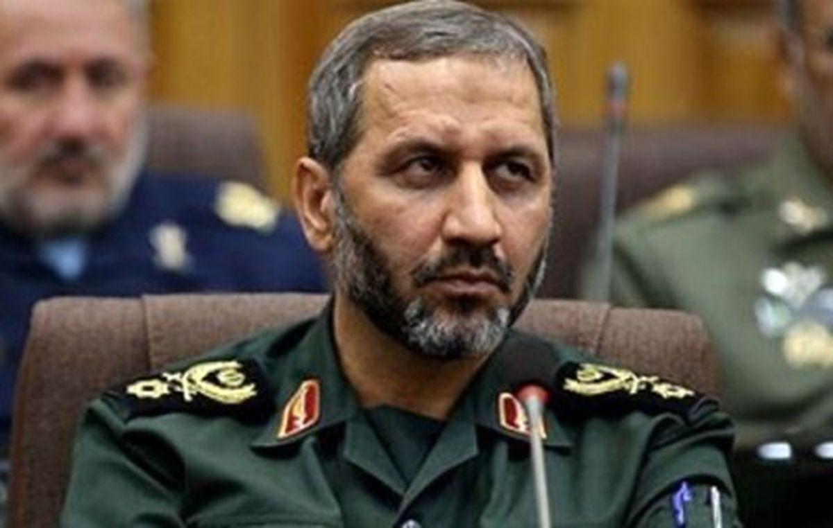 اظهارات مقام ارشد هوافضای سپاه درباره توان موشکی ایران
