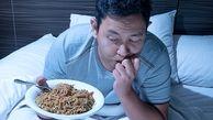 چرا نباید قبل از خواب غذا بخوریم؟