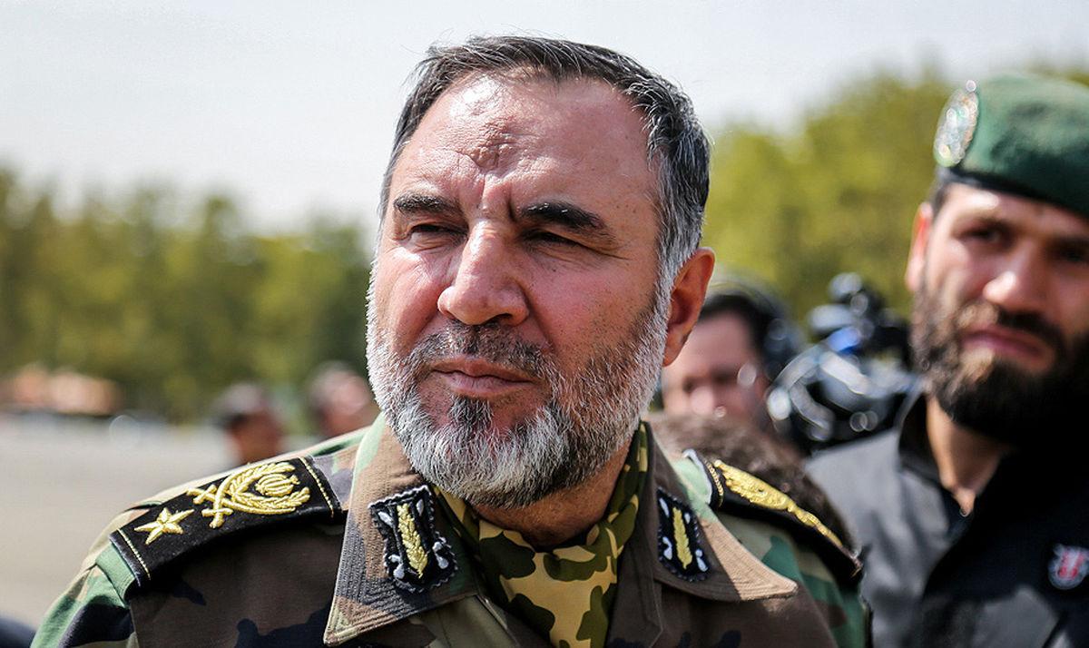 هشدار شدید فرمانده نیروی زمینی ارتش به دشمنان