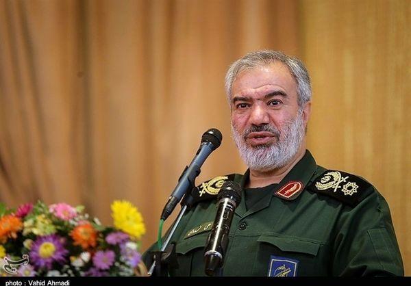 جانشین فرمانده کل سپاه : 30 سال است کسی جرات نکرده حتی یک تیر به سمت ایران پرتاب کند