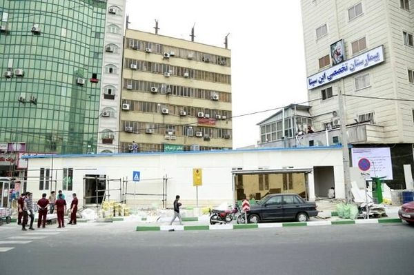 ساخت ۶ روزه کلینیک تشخیص کرونا در غرب تهران