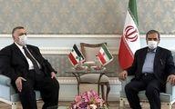 رئیس مجلس سوریه با محسن رضایی دیدار کرد