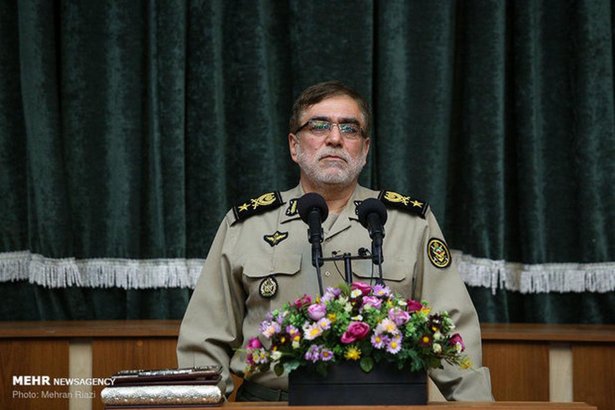واکنش جانشین فرمانده ارتش به پیشنهاد آمریکا برای مذاکره با ایران