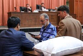 تصاویر دومین دادگاه نجفی به اتهام قتل میترا استاد